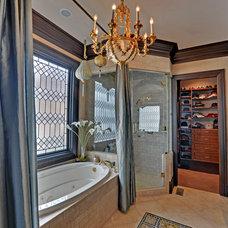 Traditional Bathroom by Envision Web