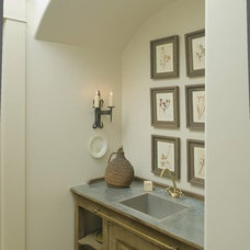 Traditional Bathroom by Christopher Architects and Interiors