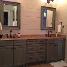 Traditional Bathroom by Jennifer Thompson