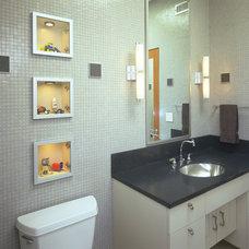 Modern Bathroom by Deep River Partners