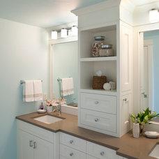Beach Style Bathroom by Francesca Owings Interior Design