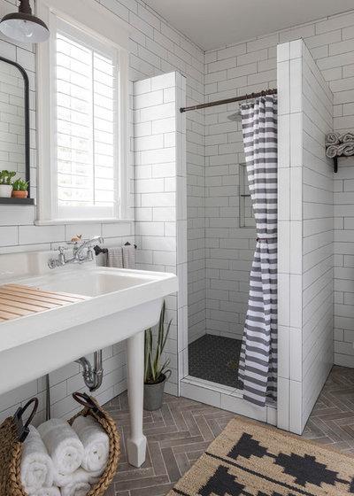 Coastal Bathroom by MDS Remodeling LLC