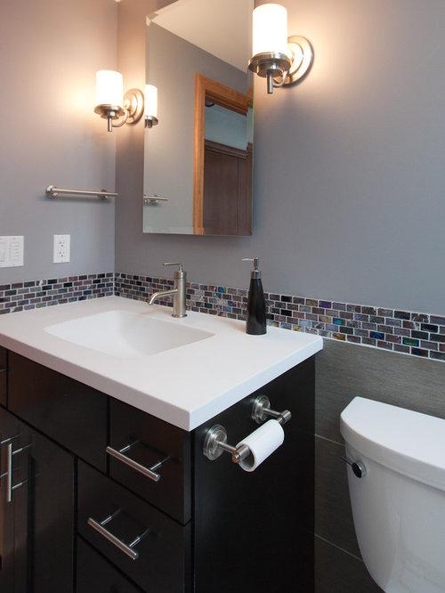 Attractive Minimalist Bathroom Photo In Minneapolis