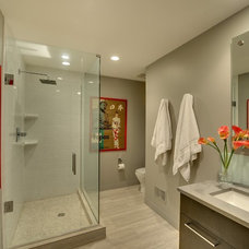 Contemporary Bathroom by Spacecrafting / Architectural Photography