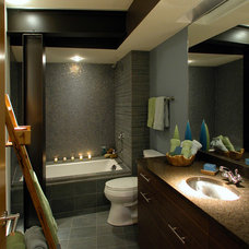 Traditional Bathroom by GMK Architecture Inc