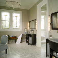 traditional bathroom by Harrison Design