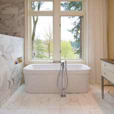 Contemporary Bathroom by Riverland Homes Inc