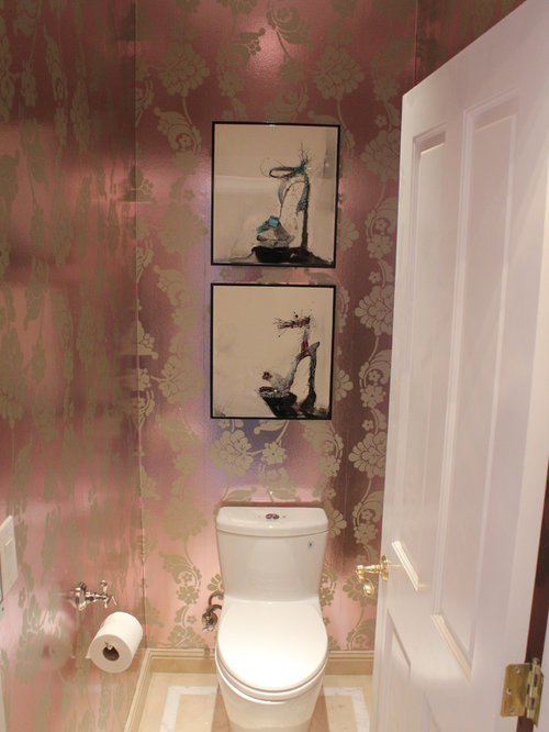 Shabby chic style bathroom design ideas renovations for Commode style shabby