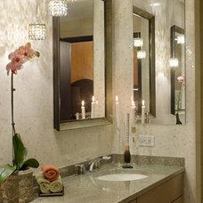 Contemporary Bathroom by Deb Reinhart Interior Design Group, Inc.