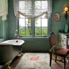 traditional bathroom by Kathryn Long, ASID