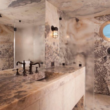 Give In to Your Wild Side With Exotic Granite and Onyx