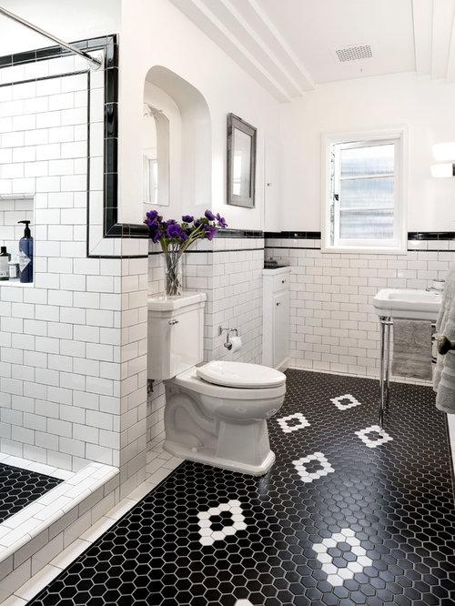 amnagement dune douche en alcve victorienne de taille moyenne avec un wc spar