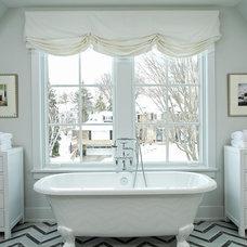 Transitional Bathroom by JALIN Design, LLC