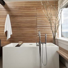 Modern Bathroom by NB Design Group, Inc
