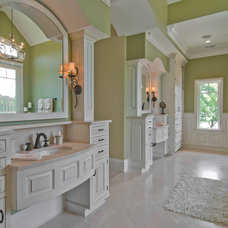 Traditional Bathroom by Sheridan Interiors