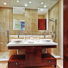 Contemporary Bathroom by Schill Architecture LLC