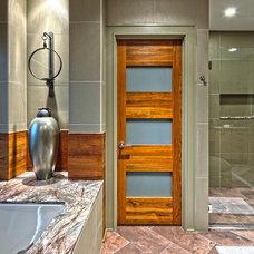 Contemporary Bathroom by Schill Architecture LLC