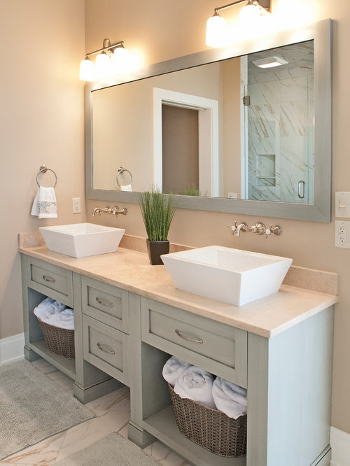 Custom Bathroom Vanities York Region custom built vanity | houzz