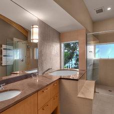 Contemporary Bathroom by RW Anderson Homes