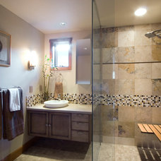 Contemporary Bathroom by Moceri Construction
