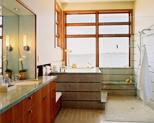 Tub And Shower Side By Side Houzz
