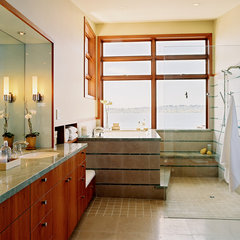contemporary bathroom by Gregory Carmichael