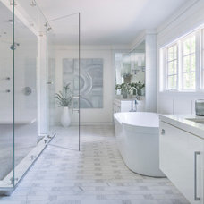 Transitional Bathroom by Hollester Interiors