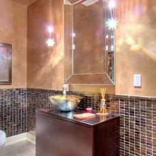 Eclectic Bathroom by Teresa Tullio IACC/NA