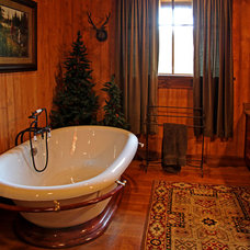 Traditional Bathroom by Appalachian Antique Hardwoods