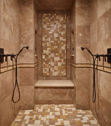 mediterranean bathroom by Gelotte Hommas Architecture