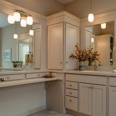 Traditional Bathroom by Bay Cabinetry & Design Studio