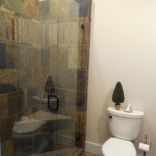 Traditional Bathroom by M's Kitchen & Bath Studio