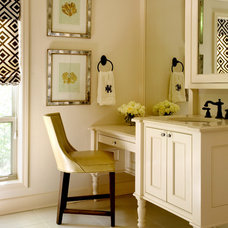 Traditional Bathroom by Tobi Fairley Interior Design