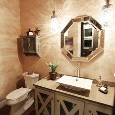 Contemporary Bathroom by Van Wicklen Design