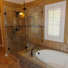 mediterranean bathroom by Quality Renovations
