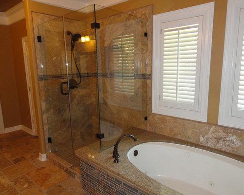 Tiled Tub Skirt | Houzz