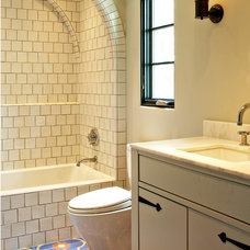 Mediterranean Bathroom by MORE design+build