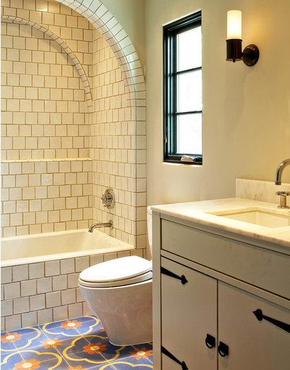 Mediterranean Bathroom by MORE design+build