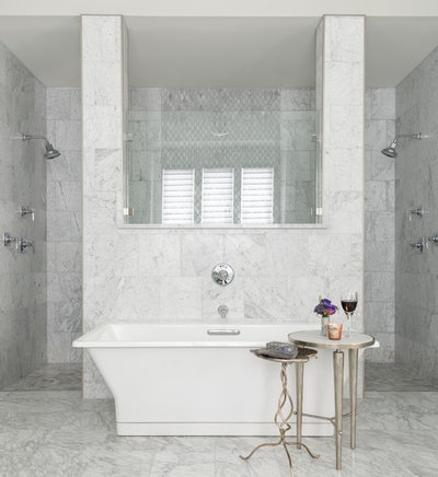 Transitional Bathroom by Associate Interiors
