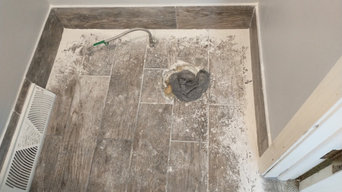 Laminate, Porcelain Tile and Woodwork Staining