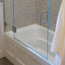 Transitional Bathroom by Kelly Scanlon Interior Design