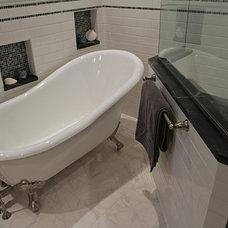 Traditional Bathroom by Ruby Construction LLC