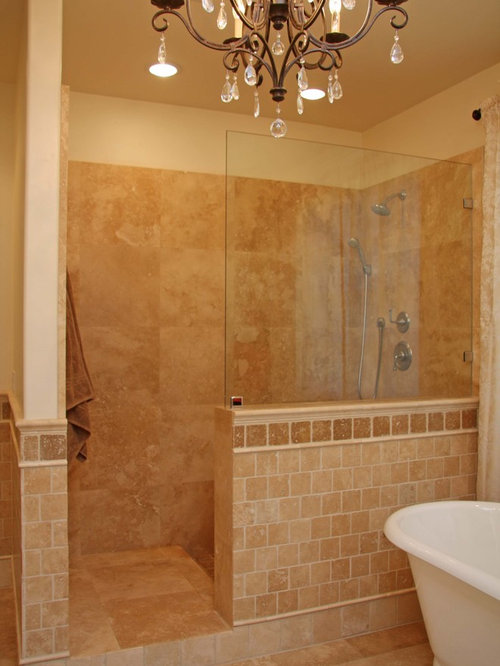 Doorless Shower Home Design Ideas Pictures Remodel And Decor