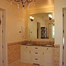 Traditional Bathroom by Landmark Builders