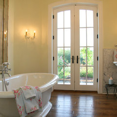traditional bathroom by Landmark Builders