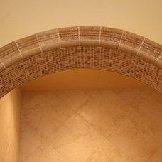 Bathroom by Landmark Builders
