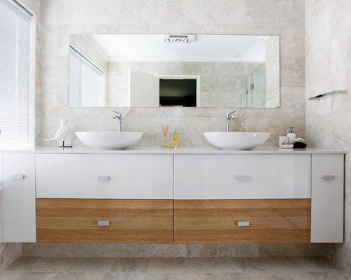 SaveEmail. Two Tone Bathroom Design Ideas  Remodels  amp  Photos
