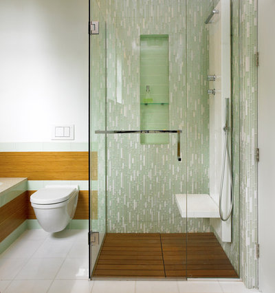 Contemporary Bathroom by The Sky is the Limit Design