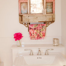 Eclectic Bathroom by The Cross Interior Design