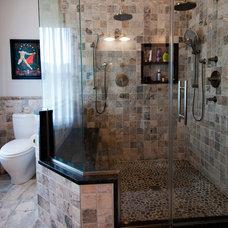 Contemporary Bathroom by Fine Cabinetry Kitchen & Bath